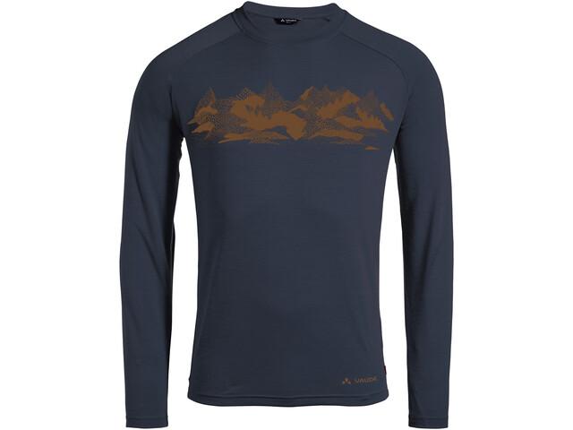 VAUDE Gleann II T-shirt à manches longues Homme, eclipse